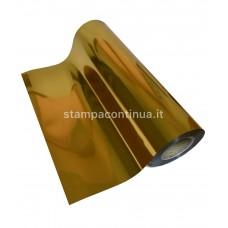 Metallic Heat Transfer vinyl for fabrics Gold