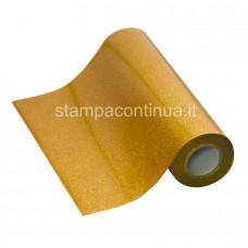 Glitter Heat Transfer vinyl for fabrics Gold
