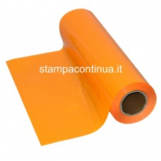 Heat Transfer vinyl for fabrics Yellow-Orange