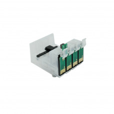 4 Ciss cartridges with chips for Epson series T1281 / T1284