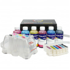 Ciss for Epson cartridges serie T2421/T2426  24XL + 600ml of ink
