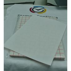 Cotton transfer Inkjet paper A4 on light