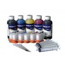 Refillable cartridges for Epson series 202 , 202XL with InkTec ink 500ml
