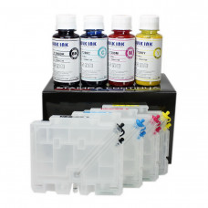 Refillable cartridges Ricoh GC-31 with 400ml sublimation ink