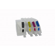 Refillable cartridges for Brother LC-3217 / LC-3219 wiht one time chip