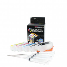 Refillable cartridges for Epson series 33 , 33XL with autoreset chip