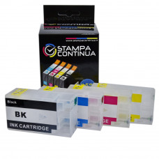 Refillable cartridges for Canon PGI-1500XL
