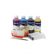 REFILLABLE` CARTRIDGES HP 364 WITH CHIP + InkTec Ink 400ML
