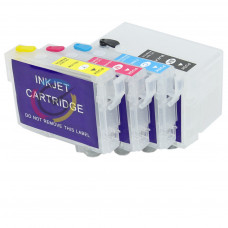 Refillable cartridges for Epson 27XL without chip
