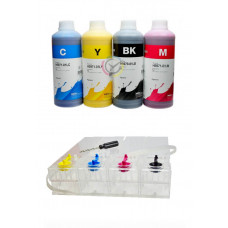 Kit CISS + 4L Pigment Inktec Ink for Hp cartridges 970 971