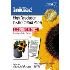 Paper for  inkjet printers A3 High Resolution Coated Matt
