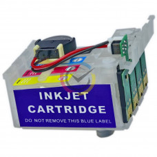 4 Ciss cartridges with chips for Epson T16 series