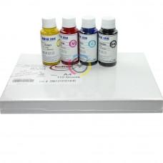 Premium QUALITY Kit Sublimazione: Carta sublimatica TexPrint XPHR A4 + 4x100ml inchiostri sublimatici  + Profilo colore ICC